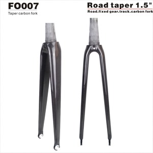 2020 NEW Tapered 700c Bicycle fork,Carbon road fork/Fixed gear fork 1-1/8