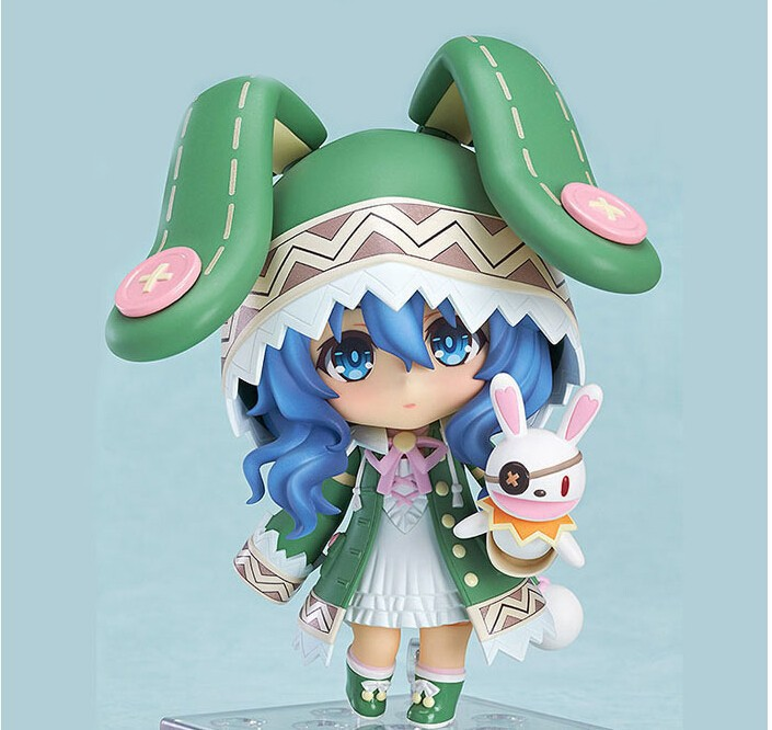 Q Version 10cm Toys Anime Clay Snow Hatsune 207 Brinquedos PVC Action Figure Floating Winter Coat Miku Dolls