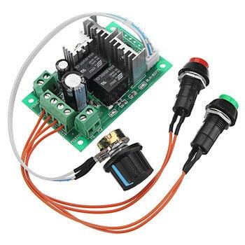 1 unid alta calidad DC 5-30 V 10A 300 W PWM DC regulador de velocidad del Motor controlador de velocidad soporte PLC 0-5 V
