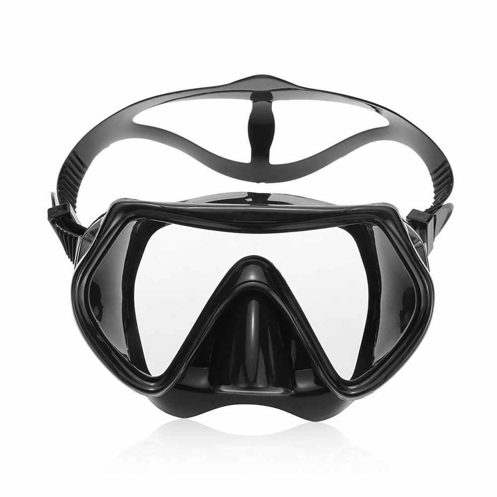 Lixada Подводная маска для подводного плавания, ныряния с дыхательной трубкой, набор для дайвинга, плавания, подводного плавания, полная сухая трубка, маска для подводного плавания, противотуманная маска для взрослых