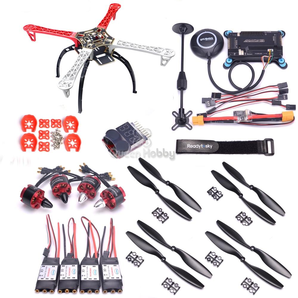 F450 450mm PCB Quadcopter Rahmen APM2.8 APM 2,8 flight controller 7 M GPS Power Modul 2212 920kv 30A simonk ESC 1045 Propeller-in Teile & Zubehör aus Spielzeug und Hobbys bei AliExpress - 11.11_Doppel-11Tag der Singles 1