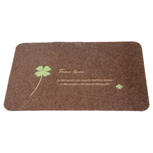 High-quality polypropylene mat into the door mats non-slip entry pad room living rubbed embroidery printing rub