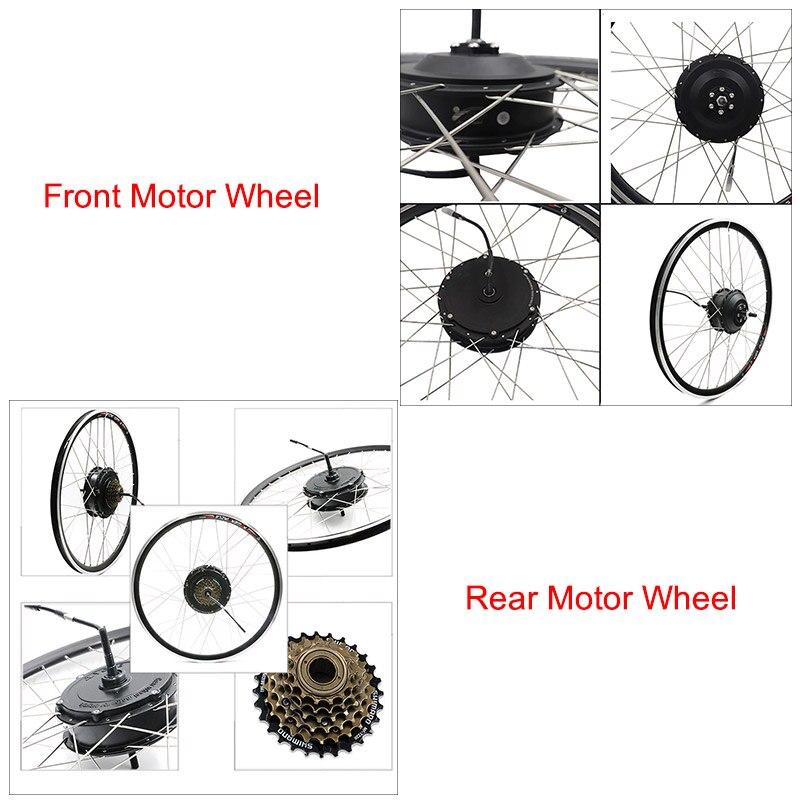 Elektrische bike kit 36 v/48 v high speed motor rad 20
