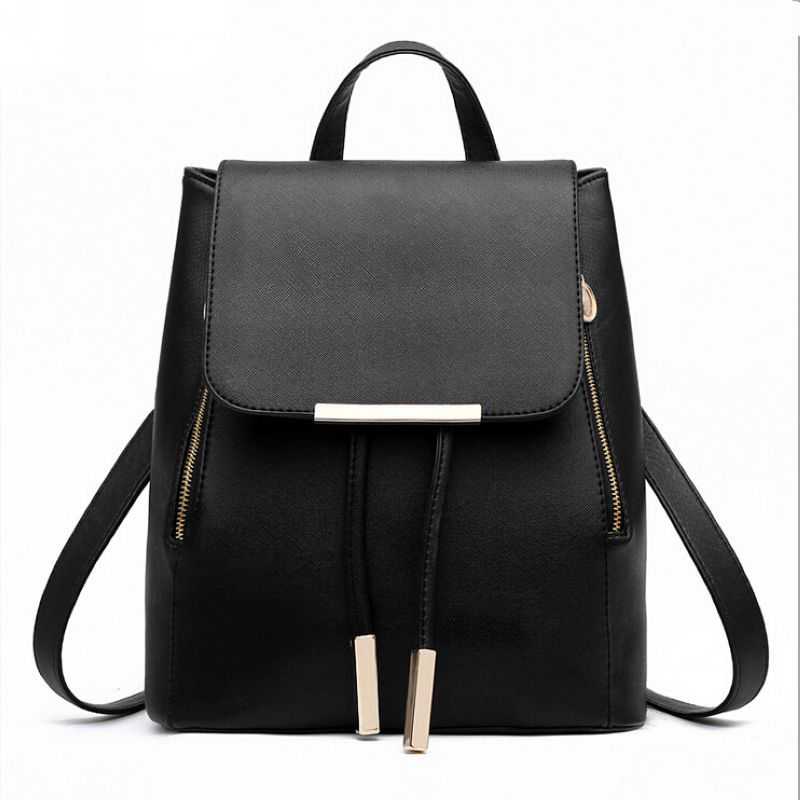 Women Backpack Fashion School Bags For Teenagers Girls High Quality Pu Leather Top handle Backpacks Mochila