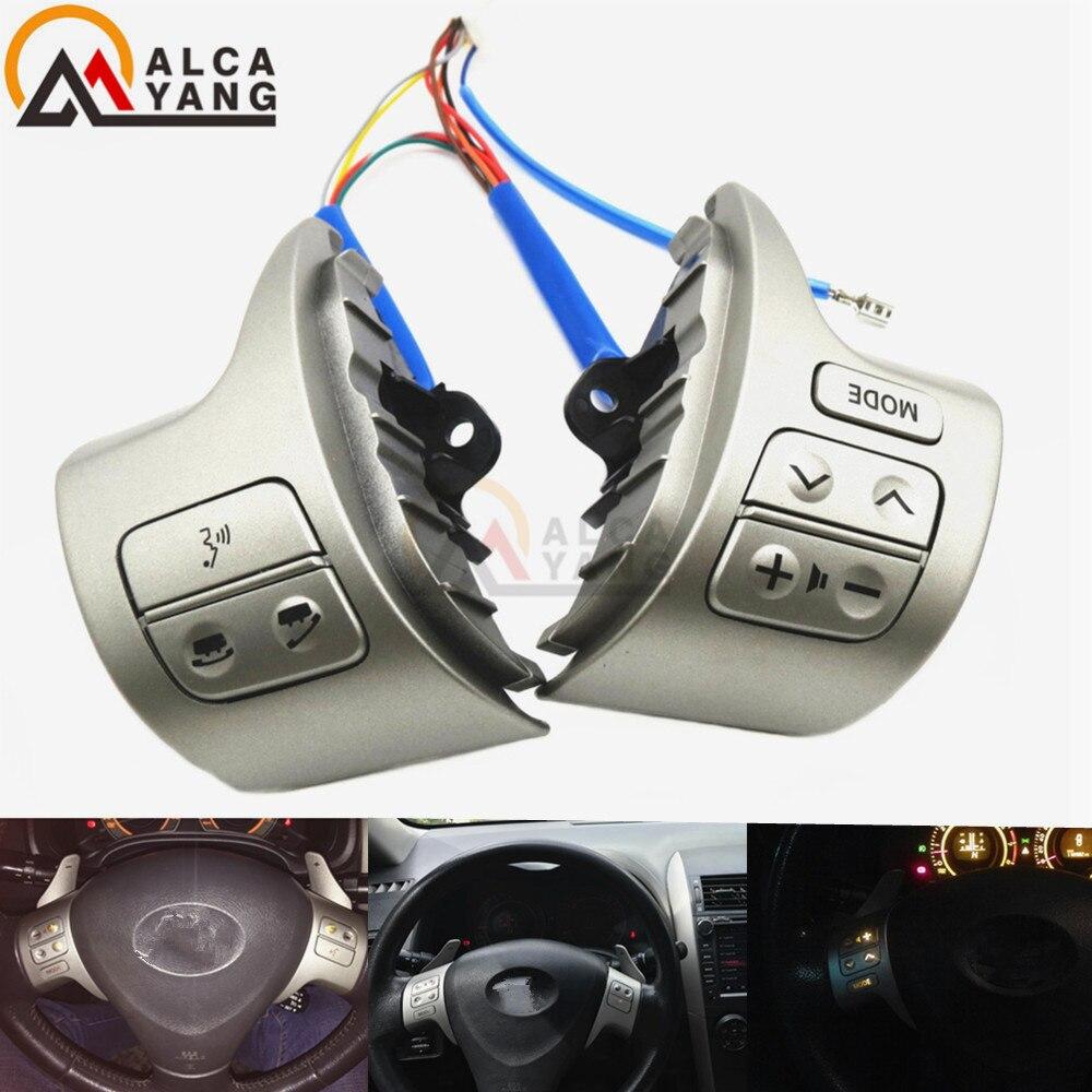 Malcayang Multifunctional Steering Wheel 84250-12020 For Toyota Corolla ZRE15 2007 ~2010 цена в Москве и Питере