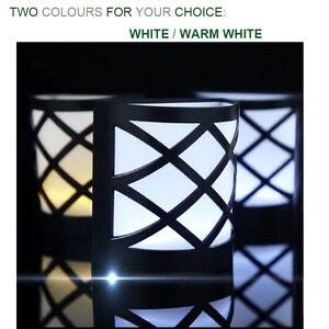 Image 4 - 4 PACK LED lampa słoneczna 2/6 LEDs wodoodporny czujnik IP55 światło zewnętrzne ścieżka na ścianę w korytarzu reflektor oświetlenie LED lampa słoneczna
