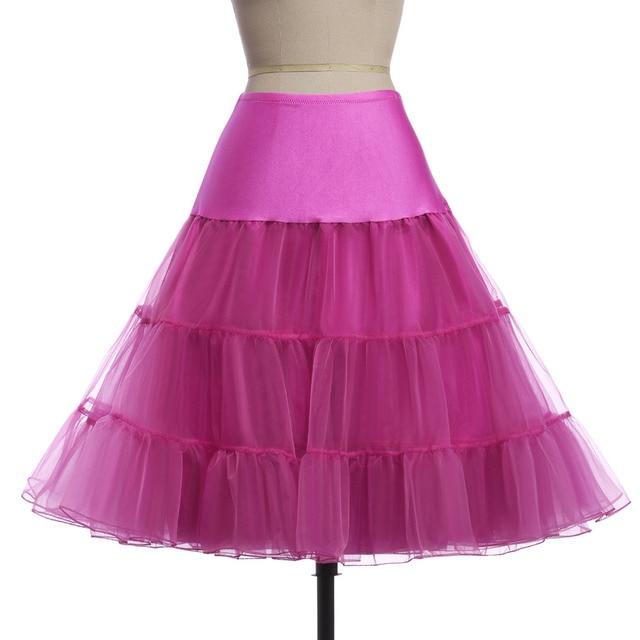 Cô gái Váy vải tuyn Váy Ruffle Váy Váy Lót Bóng Gown jupe Khung Làm Cái Vái Phùng Cổ Điển Đu Lót 2019 vàng đen trắng hồng