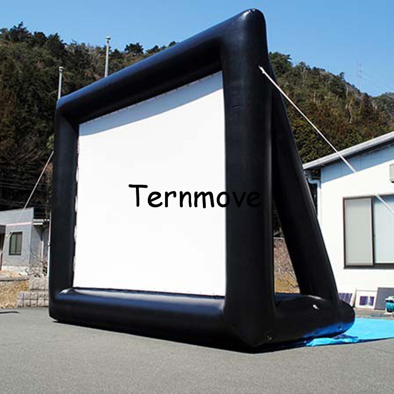 inflatable projector screen Inflatable Movie Screens For Advertising Outdoor Backyard Home Theater Screen outdoor advertising inflatable movie screen