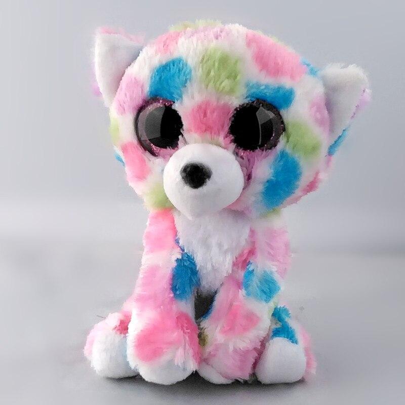 Ty Beanie Боос 6 15 см перец Cat шапочка Детские плюшевые игрушки куклы Коллекционная мягкая Игрушечные лошадки большой средства ухода для век плю...