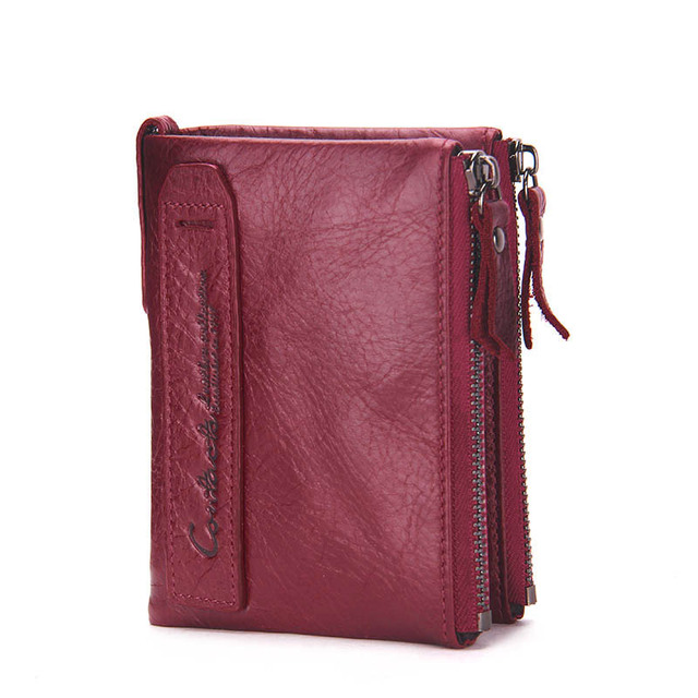 Portefeuille Homme Vertical Rouge