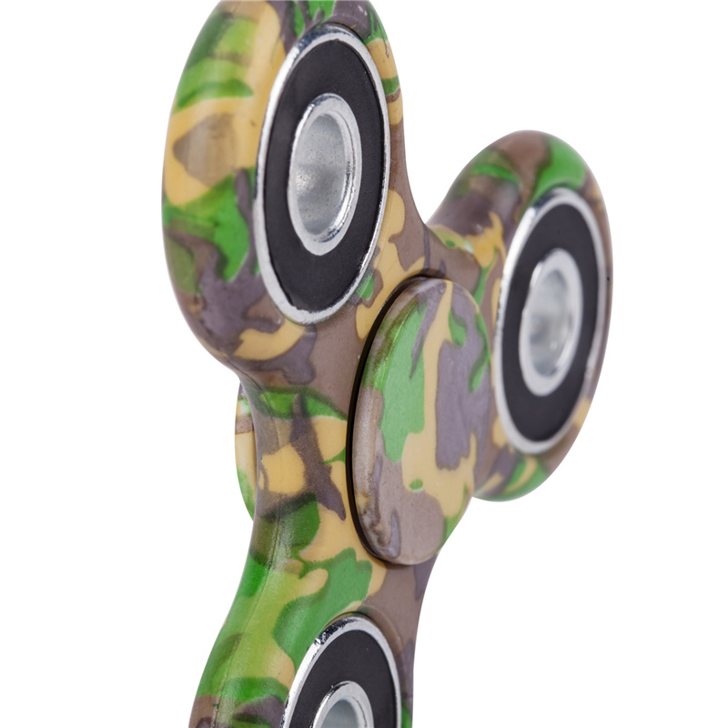 camouflage hand spinner spinning green 1