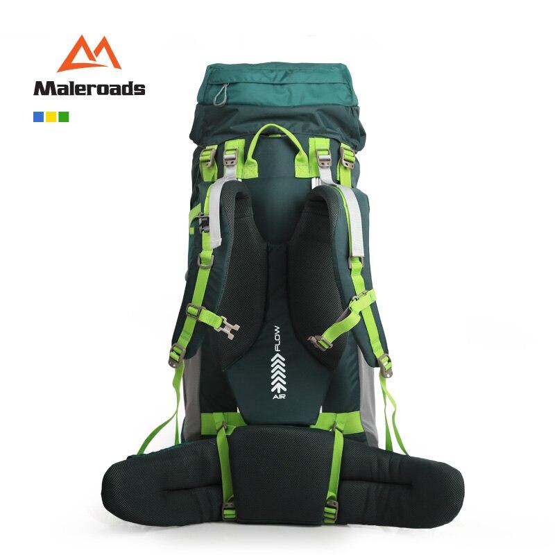 Mejor! Maleroads grande 70L CR Profesional Sistema de Subida mochila de Viaje Equipo del Engranaje Caminata Campamento Senderismo Mochila para Hombres y Mujeres - 2