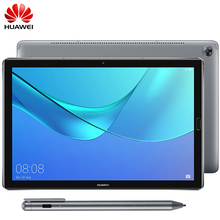Official Firmware Huawei Mediapad M5 Pro 10.8 inch Android 8.0 2K IPS Octa Core 4G Fingerprint Tablet Kirin 960 2560x1600 9V2A