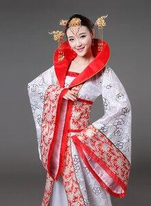 Image 3 - الفاخرة تانغ سلالة زي سحب الذيل محية الجنية المرأة زي مرحلة العروس الصينية الزفاف استوديو موضوع فستان رقص
