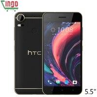 D'origine HTC Desire 10 Pro 4 GB RAM 64 GB ROM 4G LTE Mobile téléphone 5.5 pouce Octa Core Dual SIM 20MP D'empreintes Digitales 3000 mAh Noir Blanc