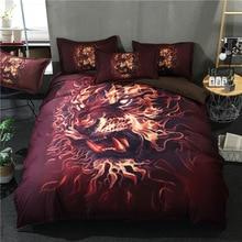 Bedding Set Queen King Bohemian Duvet Cover Plum Flower Bed Set Animal Print Bedclothes 3pcs цена