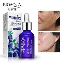 BIOAQUA Blueberry Hyaluronic Serum Acid Liquid Skin Care Anti Wrinkle Collagen Essence Face Care Whitening Moisturizing Gel 15ml