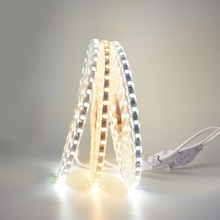 Led strip 5050 smd led colorful super bright 220v band ceiling living room lights