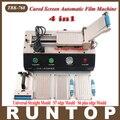 4 en 1 Pantalla Táctil TBK-768 Curva Automática OCA Película Borde Más Laminador Máquina laminadora Para S6 S7 para Curvas pantalla