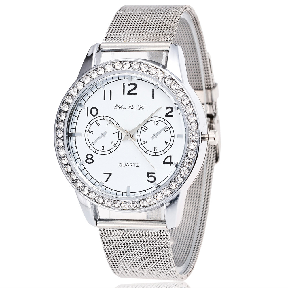 Relogio feminino Women Who Contracted Fashion Watches Steel Band Watches Gift for dropshipping 17June6