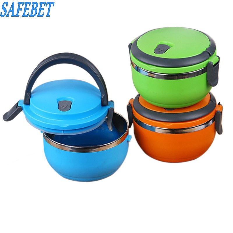 Large capacity Japanese 3 layer Insulation Lunch Box Leak Proof