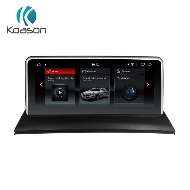 Koason Car multimedia player 10.25 inch Android 8.1 gps navigation for BMW X3 E83 2004 2010 2GB+32GB Audio Video Auto Navigator