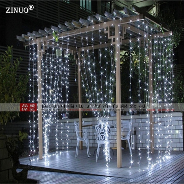 Zinuo 3mx3m 300 led curtain light outdoor fairy background curtain zinuo 3mx3m 300 led curtain light outdoor fairy background curtain string garlands with 8 modes controller aloadofball Image collections