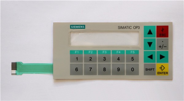 New Membrane switch 6AV3 503-1DB10 for OP3 panel keypad ,simatic HMI keypad , IN STOCK