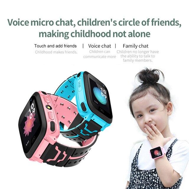 New Kid Smart Watch Smartwatch GPS Tracker IP67 Waterproof Fitness Watches SOS W