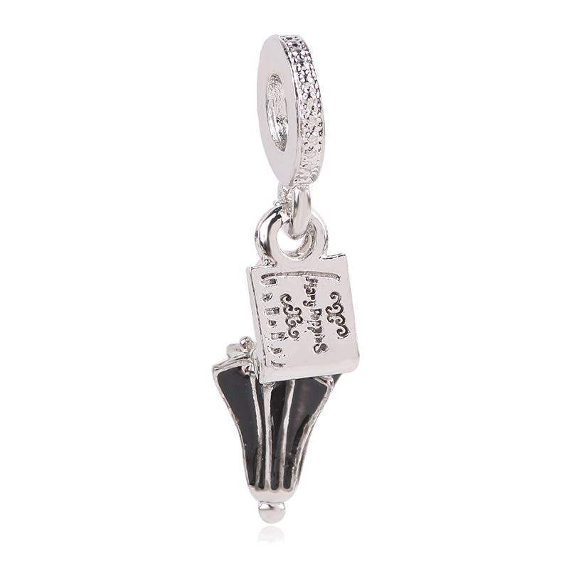Новинка,,, бусинка из ленты, Микки Маус, сказка, Дамбо, любовь, шарм, подходит для Пандоры, браслет, ожерелье, сделай сам, женское ювелирное изделие, подарок - Цвет: K258