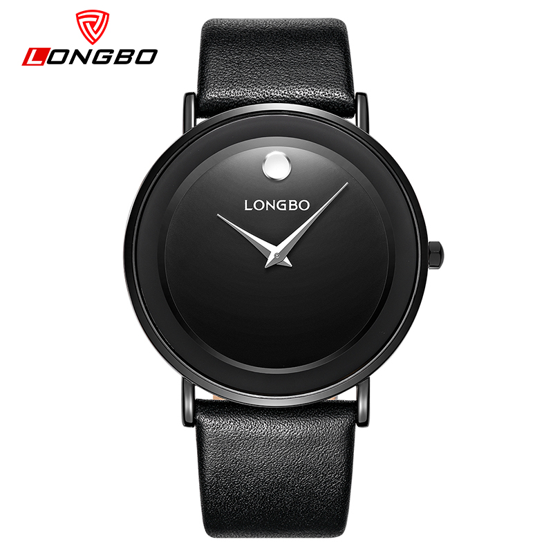 LONGBO Luxury Lovers Quartz Watch Casual Fashion Leather Strap Men Watches 2017 Women Wristwatch Simple Unisex Reloj Gifts 5058 eyki lovers watches simple fashion quartz watch waterproof leather strap men women christmas gift relogio feminino reloj hombre