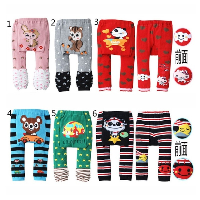 2018 Autumn Baby pants Long Trousers baby girls leggings newborn clothes boy harem pant baby clothing girl Tights 1