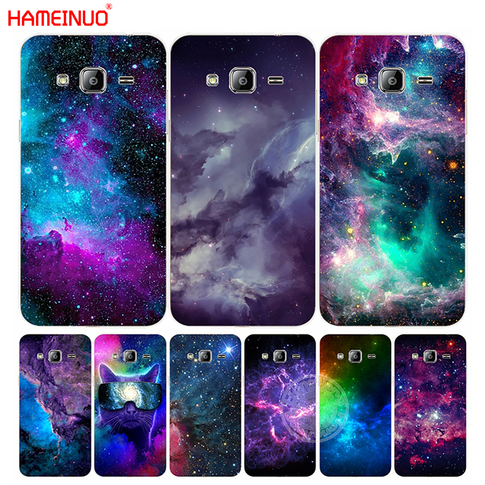 HAMEINUO colorful space for galaxy universe cover phone case for Samsung Galaxy J1 J2 J3 J5 J7 MINI ACE 2016 2015 prime