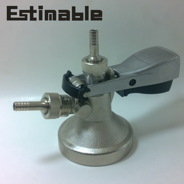Homebrew G type keg coupler Stainless steel probe G type keg coupler ...