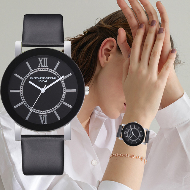 2018 New Lvpai Brand Quartz Watches For Women Luxury White Bracelet Watches Ladi