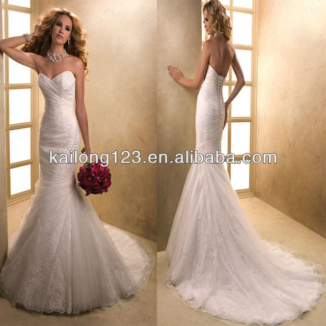 Fabulous Sweetheart Fit And Flare Corset Back Lace Under Draped - Corset For Under Wedding Dress