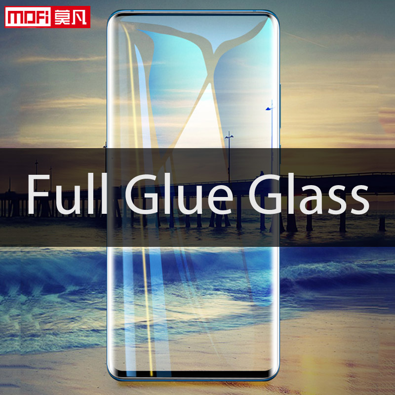 Image 2 - Oneplus 7 Pro screen protector mofi Oneplus 7 Pro tempered glass ultra clear front protective 9H Oneplus 7 Pro screen glass-in Phone Screen Protectors from Cellphones & Telecommunications