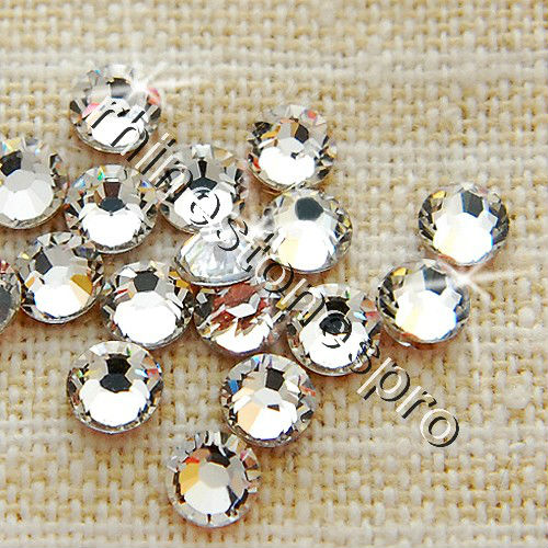 e63250e2f0b0 10ss Swarovski Elements Crystal Clear (001) 72 pieces Hot Fix Iron On (  ss10   3mm ) Stone Craft Beads Rhinestones