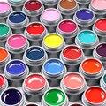 Гель Лен Цвет UV Гель Mix Цвет УФ Builder Акриловые Гель DIY Nail Art Краски UV Гель 50 шт.