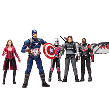 DISNEY Marvel Amazing Ultimate Spiderman Captain America Iron Man PVC Action Figure Collectible Model Toy for Kid Childrend Toys
