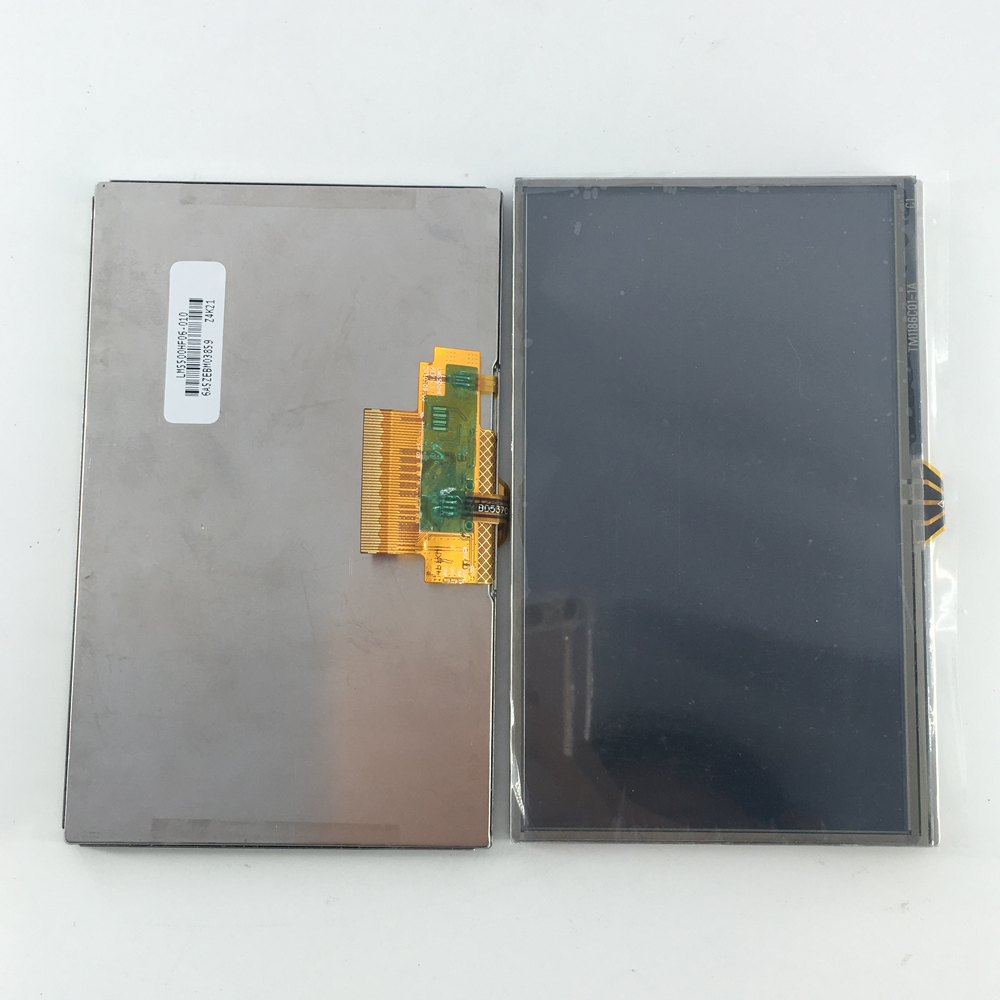 5 Inch GPS LCD Screen + Touch Screen Digitizer For TomTom GO 50 GO51  51