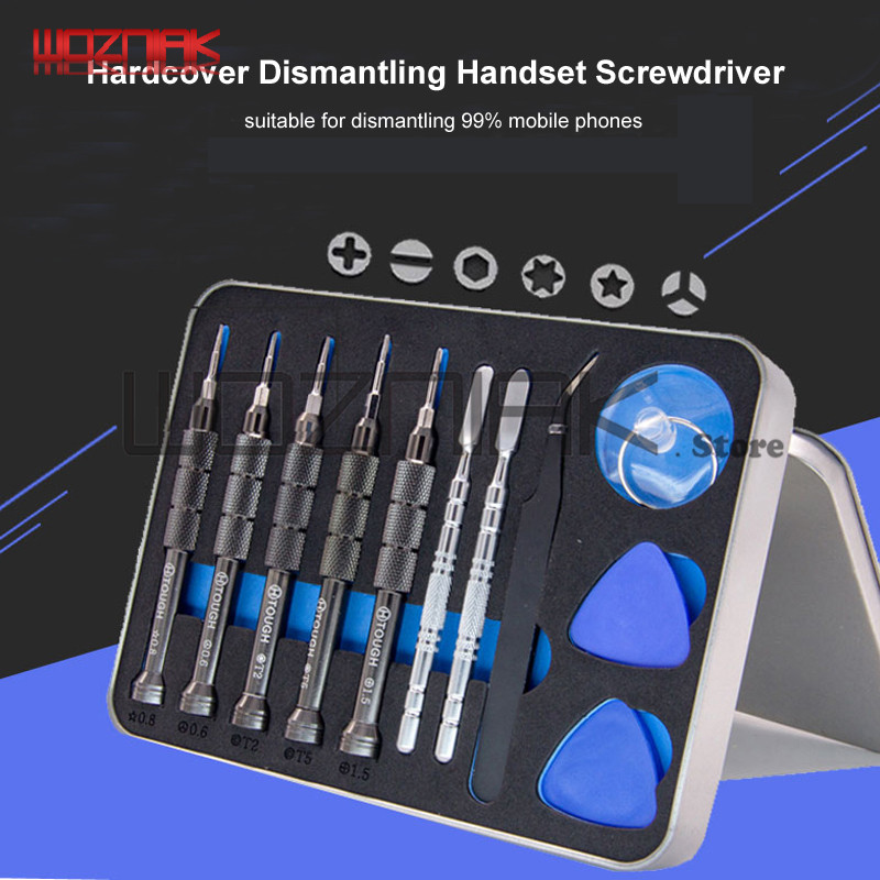Professional innovation screwdriver For iPhone Handset screw Disassemble Open rear cover tool for 99% Android Repair disassembly стоимость