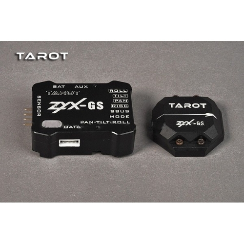 Tarot 3-axis Pan Tilt and roll stabilization Gyro system ZYX-GS ZYX13 tarot zyx s2 flybarless 3 axis gyro system zyx s v2 zyx23 for trex 450 500 550 600 700 3g fbl rc helicopter