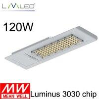 2016 hot sale LED street light 120 watts Philipslumileds smd 3030 led Ra80 high quality low price free shipping