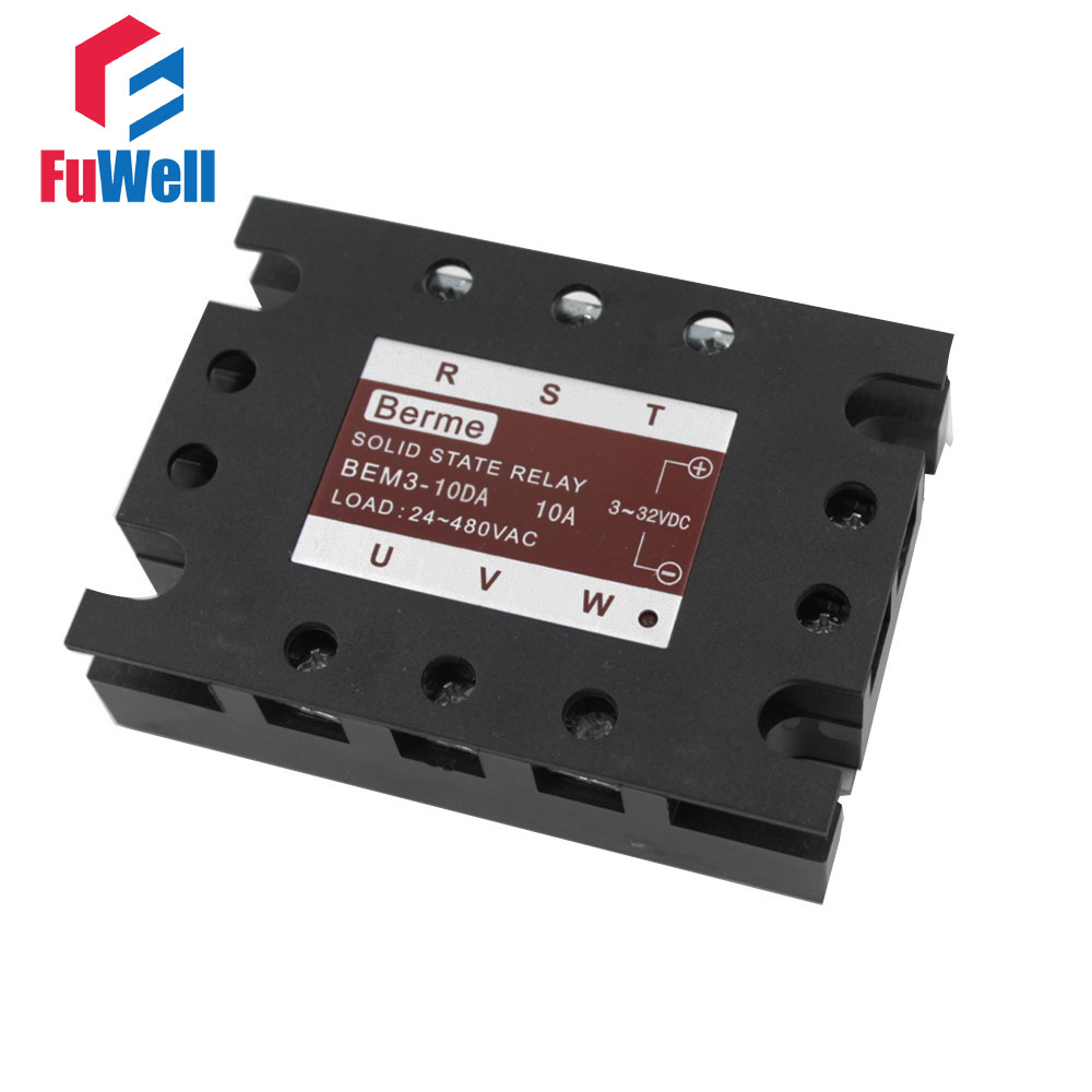 3 Phase Solid State Relay Ssr Dc Ac 10da In Relays From Home There Are And Improvement On Alibaba Group