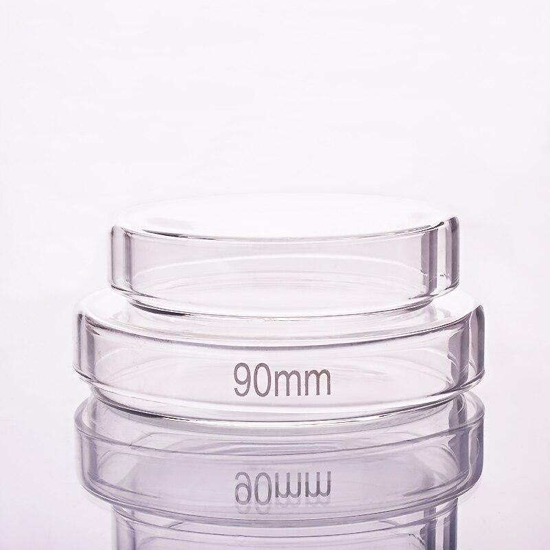 10pcs Petri Dish,Diameter 60mm/75mm/90mm/100mm/120mm/150mm/180mm,High Borosilicate Glass,High Temperature Culture Dish