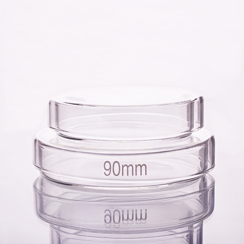 10pcs Petri Dish,Diameter 75mm/90mm,High Borosilicate Glass,High Temperature Culture Dish