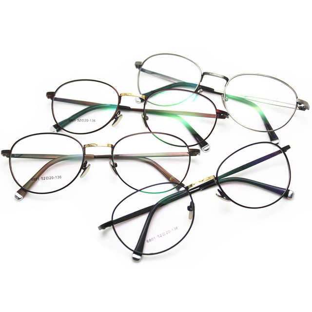0bcd44b42c New Edition Including Too Lang Fund Myopia Spectacle Frame Korean Restore  Ways Exceed Light Metal Small