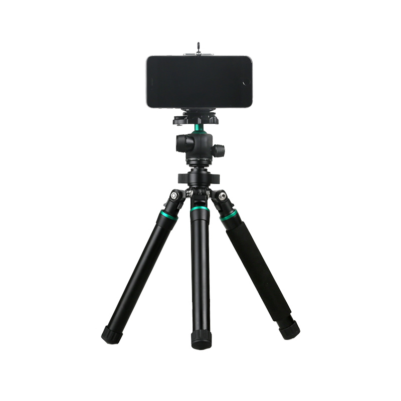 LVG BX 15 Professional Photographic Travel Compact Aluminum Tripod Monopod Ball Head for Iphone Cell phone