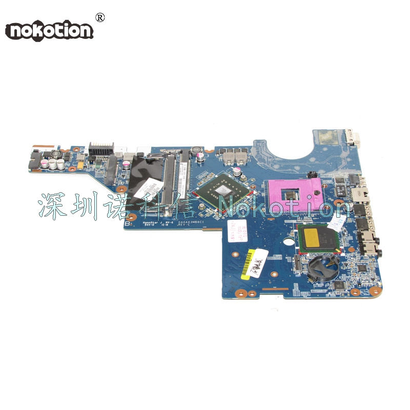 NOKOTION Laptop Motherboard For HP G42 G62 CQ42 CQ62 mainboard 605140-001 PGA478 Chipset GL40 DDR3 works chrome pull down bathroom kitchen taps single handle brass hot and cold kitchen sink faucet stream sprayer washing crane faucet